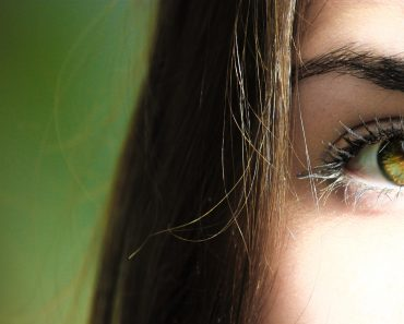 Långa ögonfransar